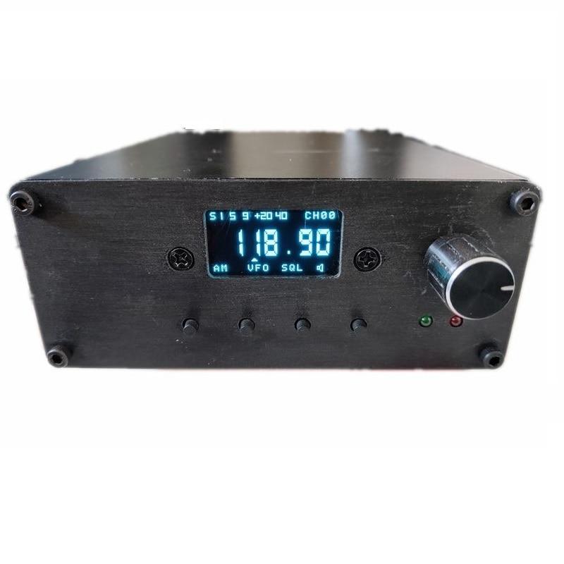 Para R100 FM/AM Receiver Suite Display Digital Banda Cabeça De Alta Freqüência do Receptor Da Aviação 28-1020 MHz