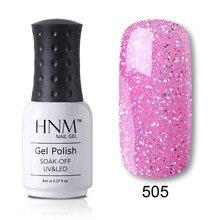 HNM 28 couleur Pure 8ML Gel vernis hybride vernis Semi Permanent UV Led Gel vernis imbiber chanceux laque apprêt Gellak