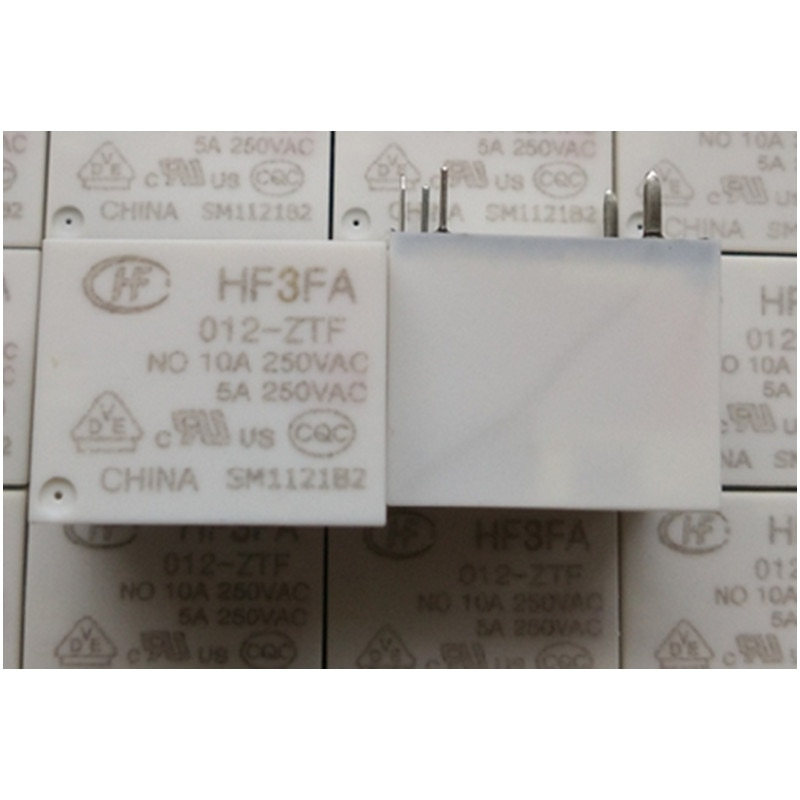 Atacado 10 pçs/lote relé HF3FA 012-ZTF