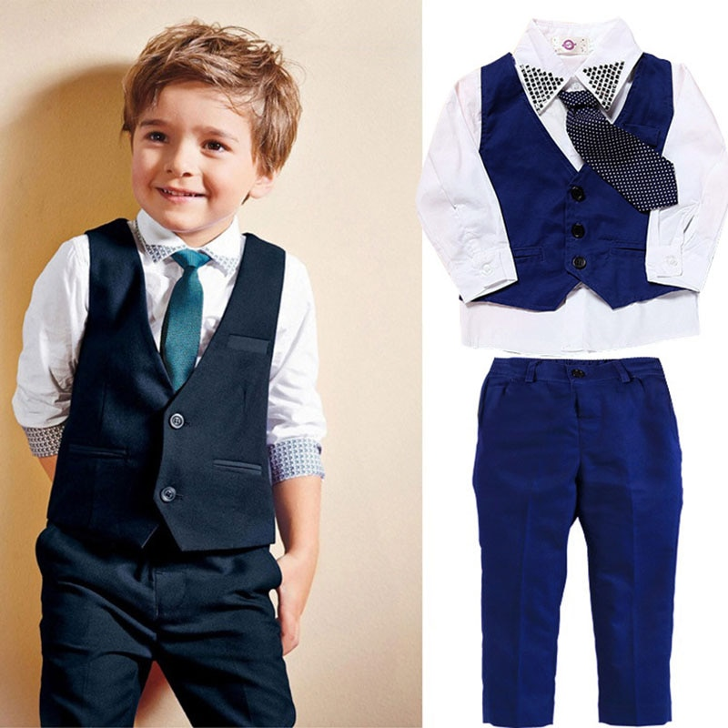 комплекты детской одежды bembi комплект детский 3 предмета кп184 Комплекты детской одежды для мальчиков, стиль джентльмена, повседневный красивый модный комплект детской одежды на весну и осень, Детский к...