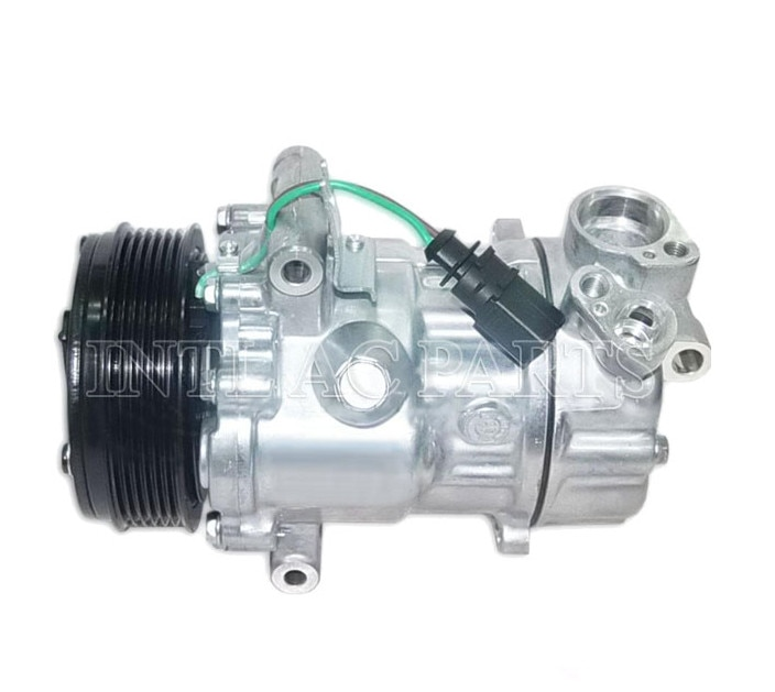 SD6V12 14339N 6RF820803A 6RF820803B 6RF820803 6R0820803A 6R0820803B NEW CAR A/C COMPRESSOR for VW POLO/ for SKODA FABIA RAPID