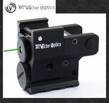 ناقلات البصريات الشفق المدمجة مسدس مسدس عدسة رؤية بالليزر الأخضر مع سلك مفتاح الكابلات تناسب 20 مللي متر القضبان ل Glock 17
