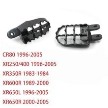 Repose-pieds pieds repose-pieds   Pour Honda XR250 XR 250 CR80 XR650L 96-05 XR350R 83-84 XR600R 89-00 XR650R 00-05