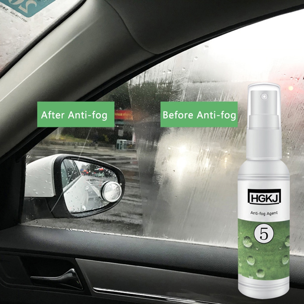 20 ml cuidado del coche Anti-niebla agente impermeable Anit-niebla Spray para ventana frontal vidrio Anti niebla gafas