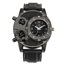 #5001  1PCS Fashion Men's Thin Silica Gel Students Sports Quartz Watch reloj hombre New Arrival Free
