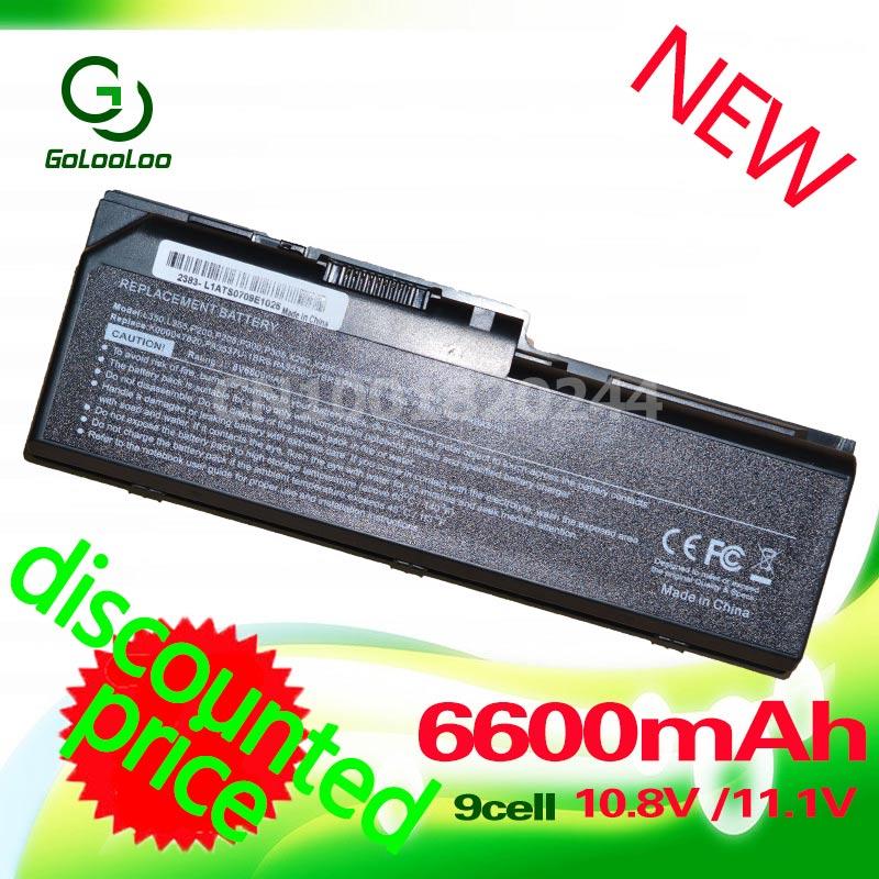 Golooloo 6600MaH Bateria para toshiba PA3536U-1BRS PA3537U-1BAS PA3537U-1BRS PABAS100 PABAS101 Equium L350 P200D L350D P200 P300
