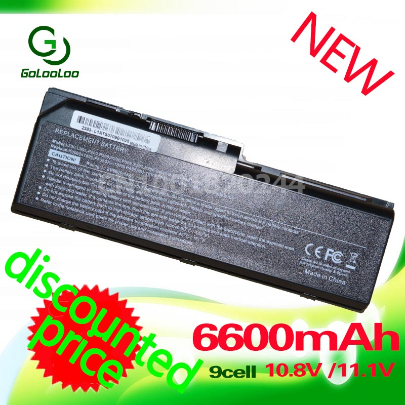 Golooloo 6600MaH Battery for toshiba PA3536U-1BRS PA3537U-1BAS PA3537U-1BRS PABAS100 PABAS101 Equium L350 P200D L350D P200 P300