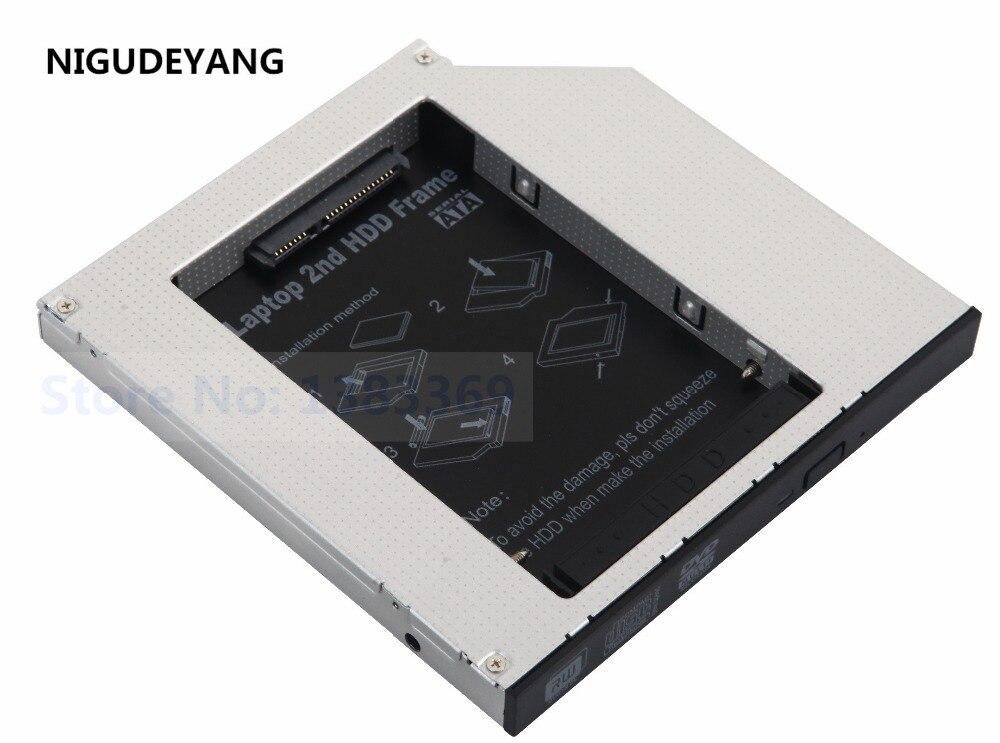 NIGUDEYANG-disco duro 2 ° disco duro HDD SSD, carcasa Caddy para Acer...