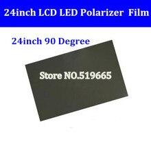 Nouveau 24 pouces 90 degrés brillant 24 pouces LCD polarisant Film pour LCD LED écran IPS pour TV