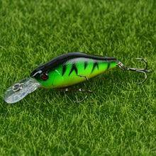 1PCS Hard Minnow Fishing Lure 7cm/8g Topwater Wobbler Artificial Bait For Bass Pike Crankbait Tackle For Fish Leurre Pesca
