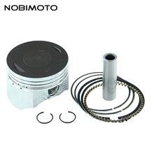 Набор кольцевых поршней 65,5 мм, 15 мм, подходит для двигателя Zongshen Loncin 250cc CB250, квадроцикла, мотоцикла, HH-115