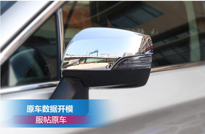 Cubierta embellecedora de espejo retrovisor ABS cromado, decoración de espejo retrovisor para Subaru 2012-2018 outback XV Forester, estilismo para coche