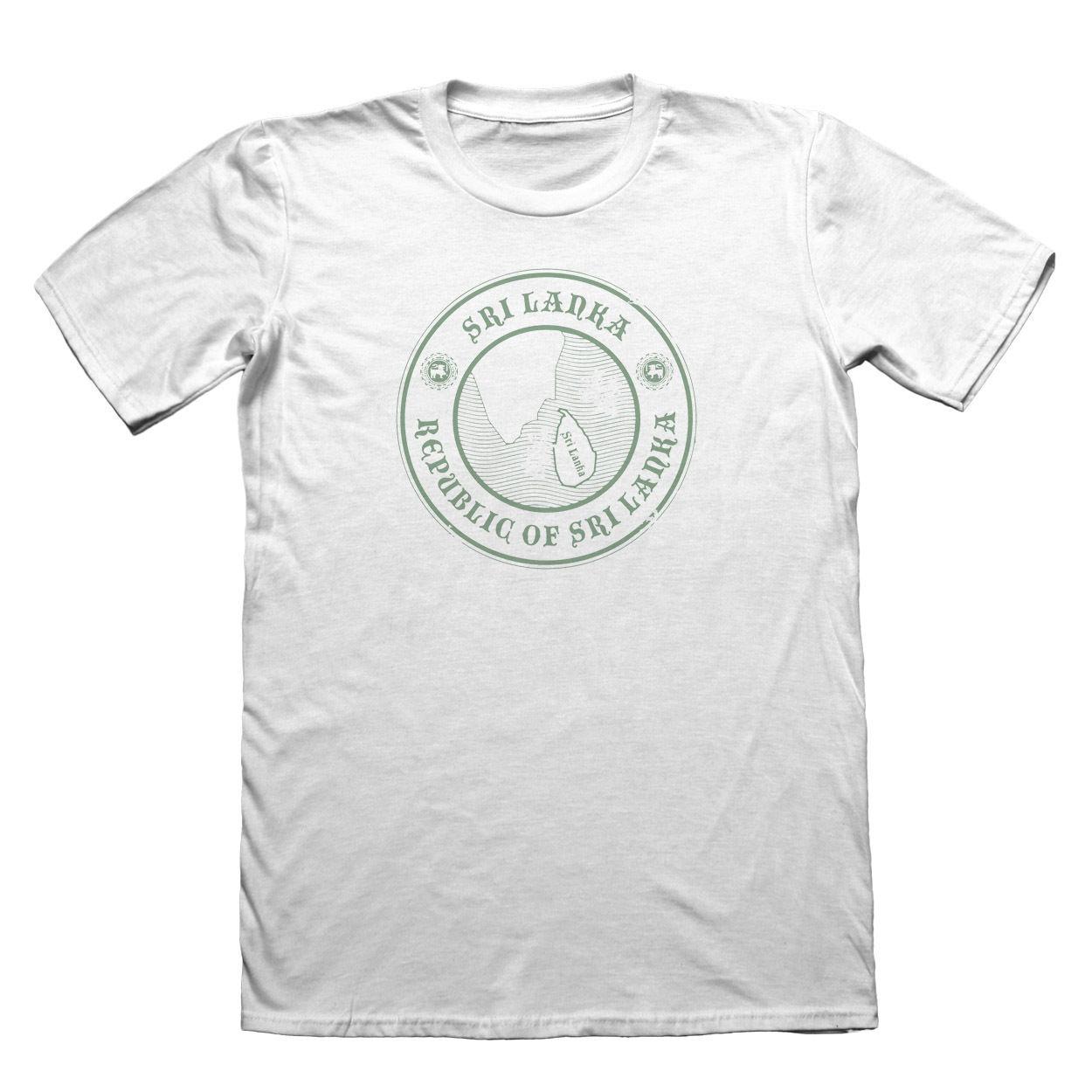 ¡Novedad de 2019! Camiseta a la moda de diseño de Sri Lanka-Camiseta navideña del Día del Padre para hombre