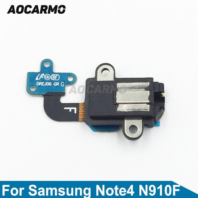 Aocarmo auricular auriculares Jack de Audio cable FLEX para Samsung Galaxy Nota...