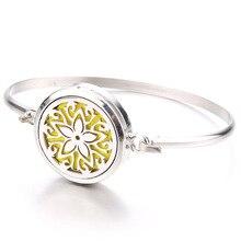 Beautiful Star Star Fine Perfume Box Bracelet Aroma Essential Oil Diffuser Locket Stainless Steel Br