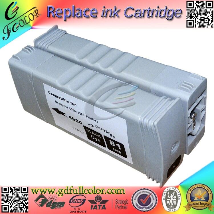 Cartucho de Tinta Compatível com Tinta Pigmentada para hp Frete Grátis Monte! Hp91 Designjet Z6100 Ciss 8 Pcs um