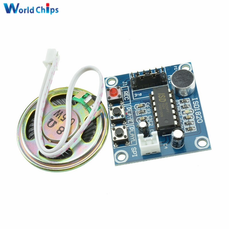 isd1820-3-5v-recording-module-voice-module-the-voice-board-telediphone-module-board-with-microphones-loudspeaker-for-arduino