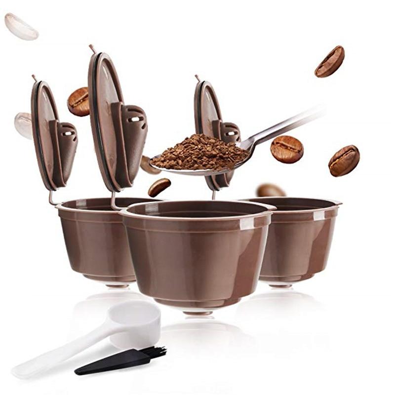 Многоразовые капсулы с кофе для Nescafe Dolce Gusto машины для приготовления кофе капсулы Pod чашки кофейника