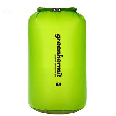 Gran oferta 6L bolsa seca impermeable saco ultraligero 30D CORDURA natación Brift Rafting bolsa Greenhermit OD1106