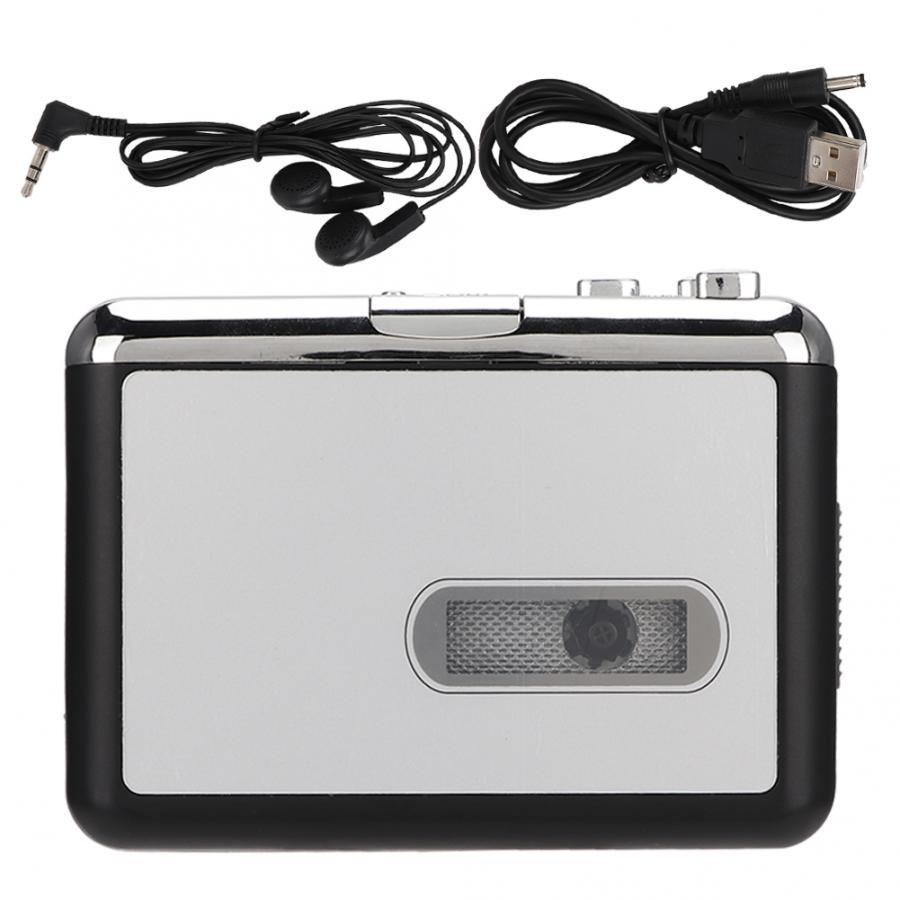 Кассета в MP3 конвертер стерео USB кассета цифровая лента с наушниками поддержка TF