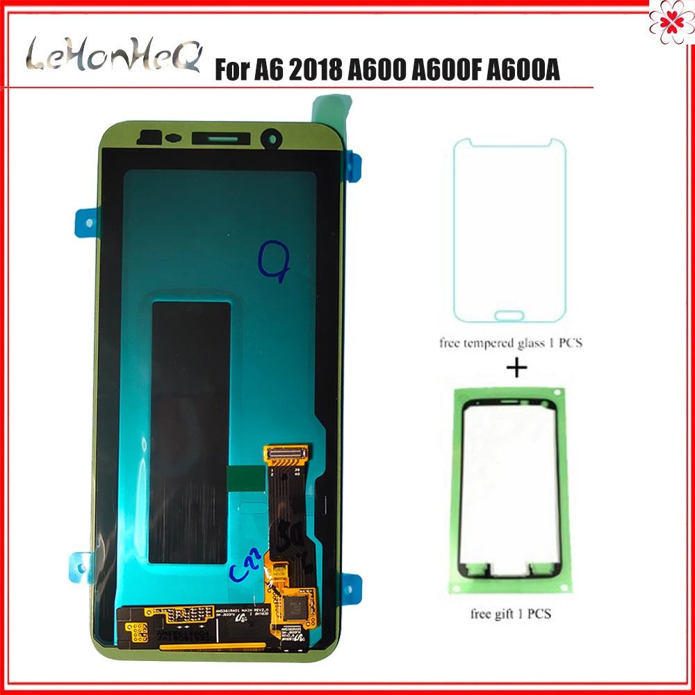 LCD Para samsung galaxy A6 2018 A600 A600F A600FN LCD SCREEN Display Toque Digitador Assembléia Para Samsung A600FN original LCD