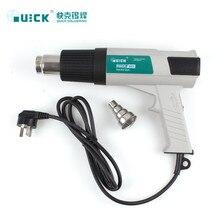 QUICK 885 Thermostat pistolet à Air chaud trois blocs débit dair plage de température réglable de 600 degrés 2100 W Station de reprise SMD