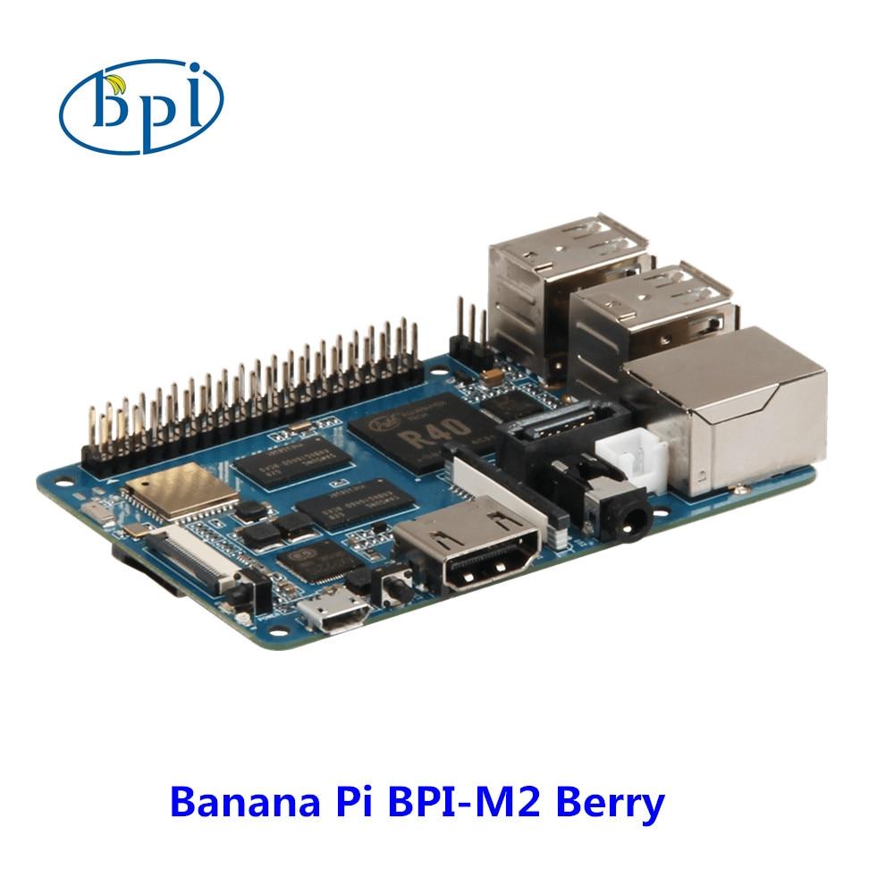 New products ! Quad Core cortex A7 CPU 1G DDR Banana pi BPI-M2 Berry ,same size as raspberry pi 3