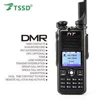 Original 5W TYT GPS IP-67 Waterproof Dual Band 144/430 Digital DMR Two Way Radio MD-2017