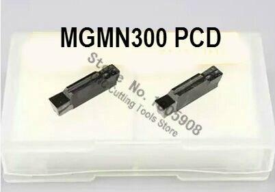 2 uds. PCD Inserts MGMN300 CNC PCD Bits, insertos de corte, adecuados para herramientas de torno MGEHR/mgiar, Envío Gratis
