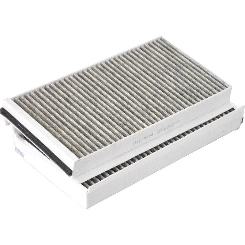 Воздушный фильтр в салон автомобиля для BMW 5 серии E60 528i 535i 535xi 545i 550i 650i M5 64319171858 64316935822 CUK3139
