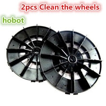 2 pcs roue de nettoyage pour hobot 188 168 Cabo robot pièces de rechange Robot pour laver les fenêtres