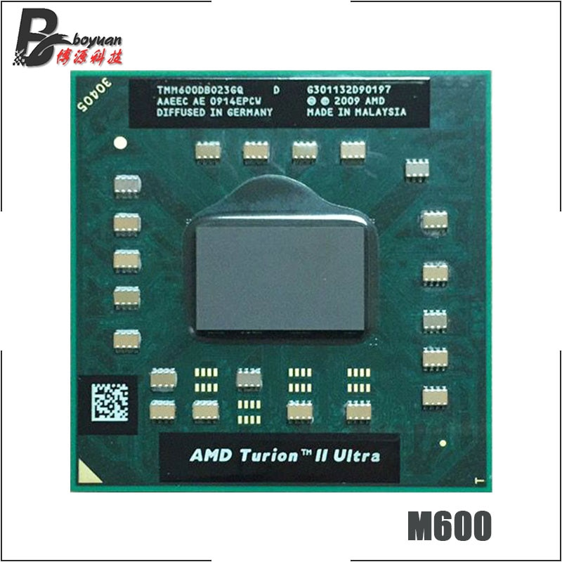 AMD Turion II Ultra Dual-Core Móvel M600 CPU Processador de 2.4 GHz Dual-Core Dual-Fio TMM600DBO23GQ tomada S1 vendas de M620