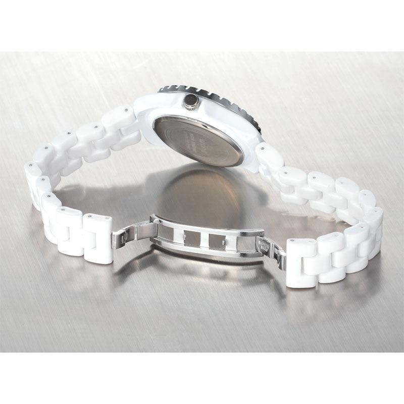 Skone Ladies Watches New Fashion Women  Analog Quartz Waterproof WristWatch Ceramic Clock Women's watch Top Brand Luxury Relojes enlarge