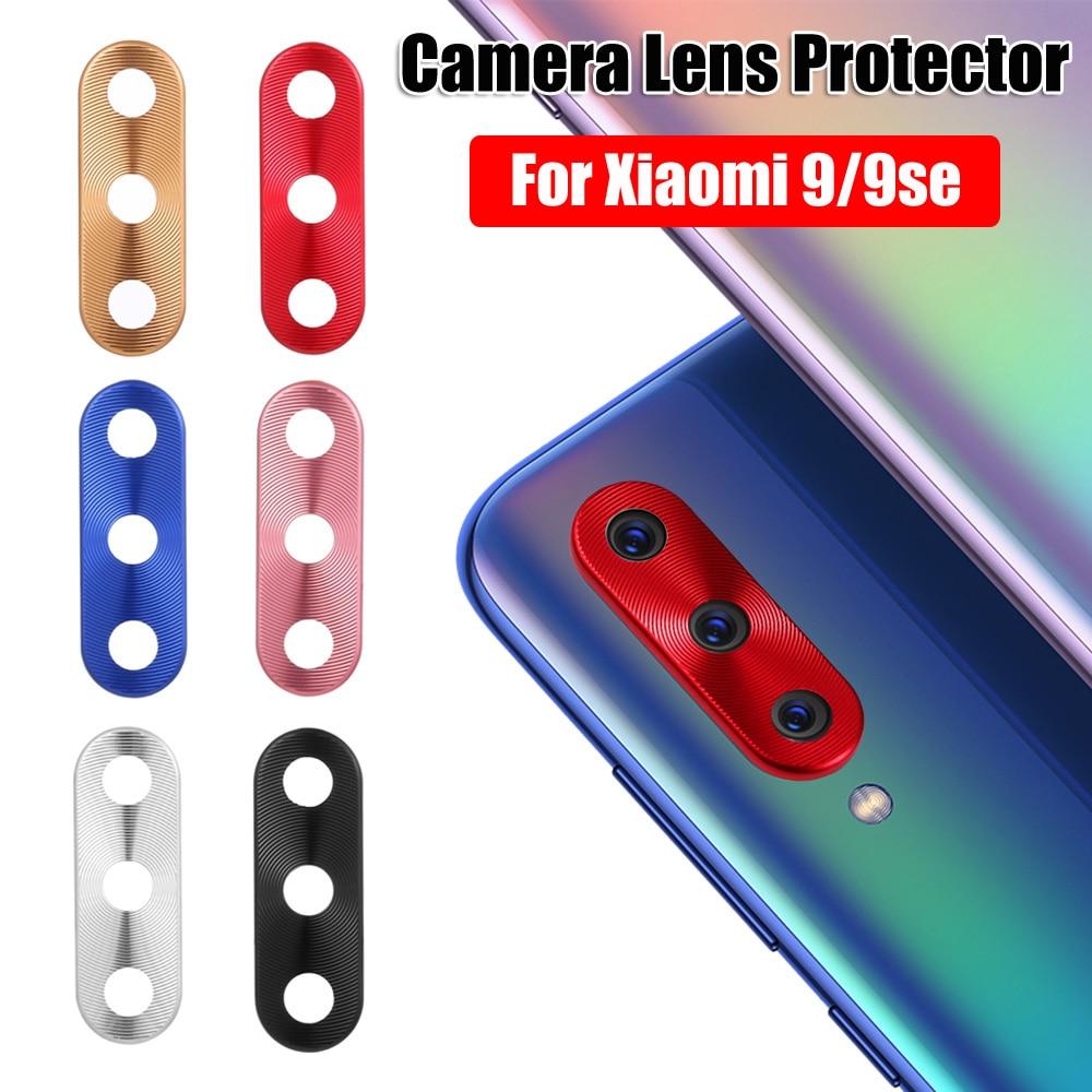 Anillo Protector de lente de cámara para Xiaomi Mi 9 9SE, funda protectora trasera de Metal para teléfono móvil