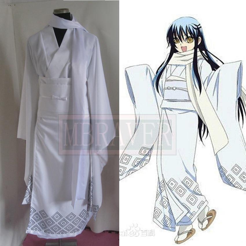 Nura: Rise of the Yokai Clan Tsurara Oikawa Cosplay Costume Halloween Costumes