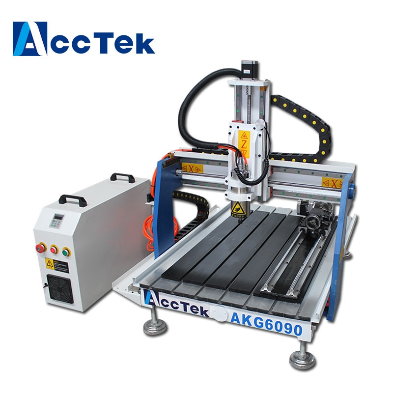 AKG6090 Hoge kwaliteit 3D Houtsnijwerk Machine cnc router 6090 voor reclame