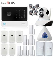 SmartYIBA G90B Plus WiFi GPRS Alarm GSM Autodial Security Alarm System Personalise Alarm System APP Control PIR Detector