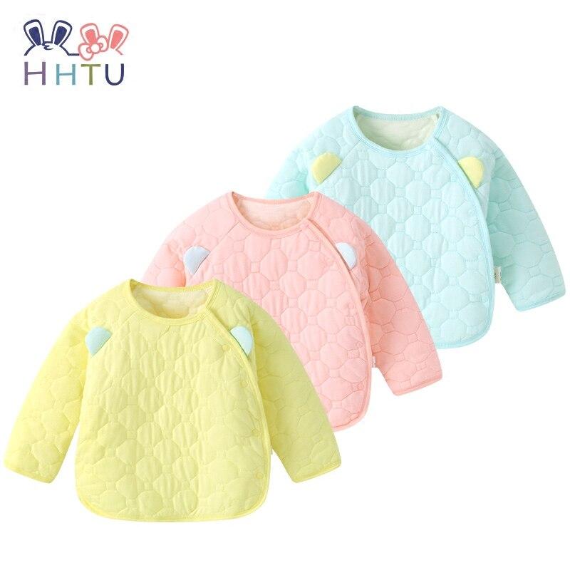 HHTU bebé recién nacido acolchado abrigo de algodón chico niños niño niña primavera otoño mantener caliente manga larga prenda abrigo chaqueta ropa