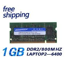KEMBONA volledige compatibel notebook laptop pc6400 ram ddr2 1 GB 800 mhz dus dimm
