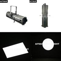 (4lot/CASE)Professional studio photography led fresnel spot 200w photo led studio light 300w profile led spot zoom flight case