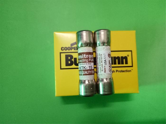 شحن مجاني 10 قطعة KTK-15 Limitron الدكتور جولدمان الصمامات/الصمامات 15A 600V حقيقية