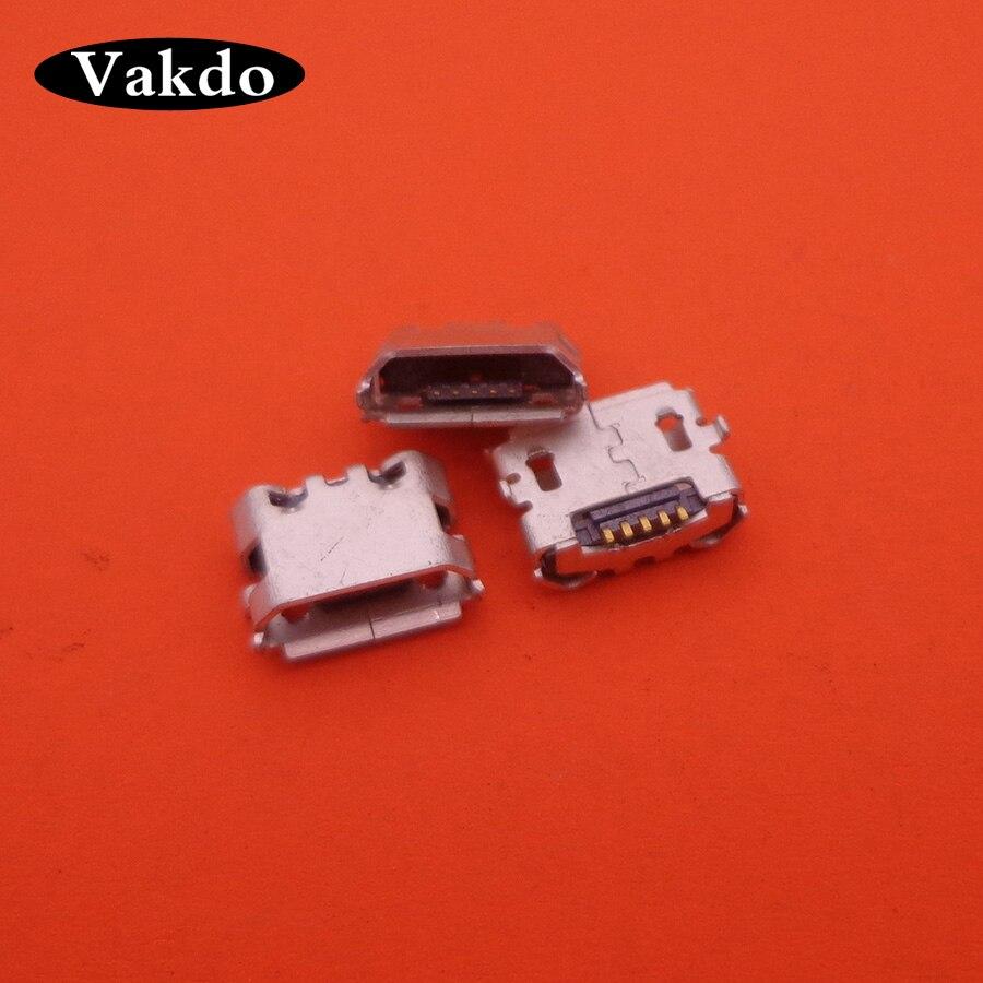 60 pçs micro usb porto de carregamento plug para playstation 4 dualshock sem fio ps4 controlador conector