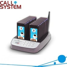 999 채널 식당 호출기 무선 호출 대기열 시스템 16 호출 코스터 호출기 레스토랑 장비