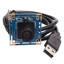 8mp haute résolution SONY IMX179 MJPEG pas de distorsion HD capture de documents UVC Mini Module de caméra Usb pour Android, Linux, Windows