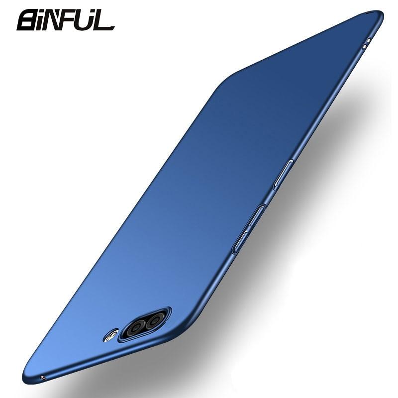 Funda para Huawei Honor 10, cubierta trasera de pc duro delgada de negocios para Honor10 10 Lite View10 20 Pro V20, funda para teléfono