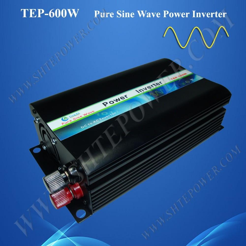DC to AC solar power inverter 12V 220V 600W ,pure sine inverter