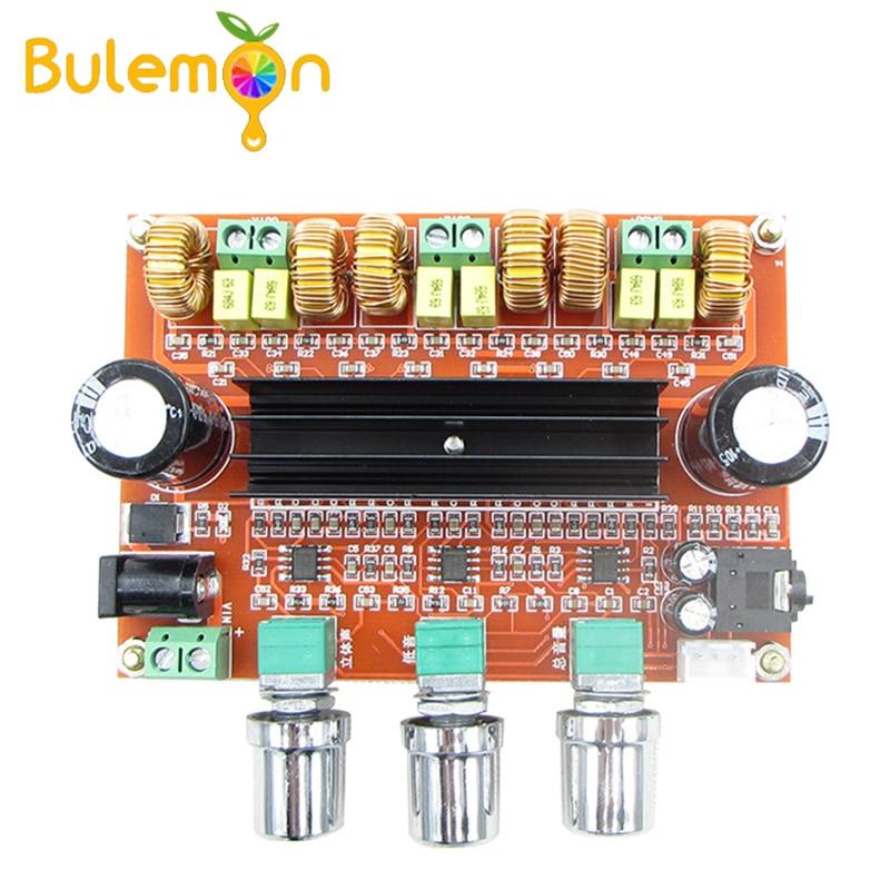 TPA3116D2 Digital 2,1 Placa de amplificador de audio 2*80W + 100W Subwoofer...