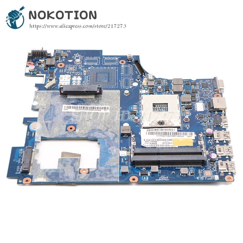 NOKOTION QIWG7 LA-7983P اللوحة المحمول لينوفو ideapad G780 نظام مجلس HM76 UMA HD4000 DDR3