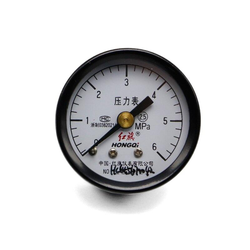 Высокое качество Y-40Z обычный осевой манометр диапазон 0-6 МПа