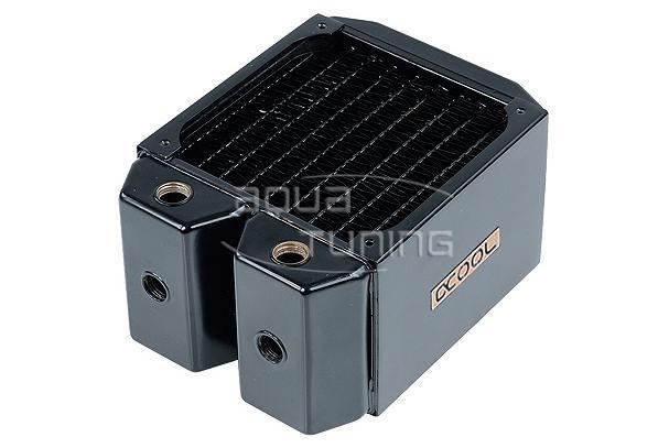 Cold row full copper radiator Alphacool NexXxoS Monsta Full Copper 120mm
